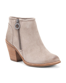 SOFFT Suede Comfort Ankle Booties