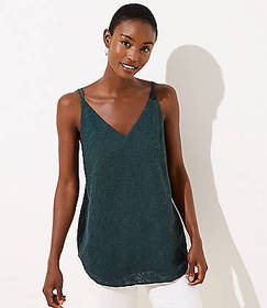 Floral Embroidered Strappy Cami