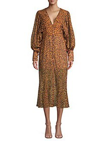 CMEO COLLECTIVE Apparent Printed Long Sleeve Dress