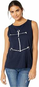 The Original Retro Brand Soft Slub Anchor Tank