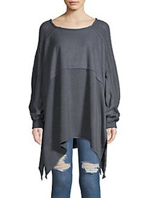 Free People My Girl Pullover Top DARK TURQUOISE
