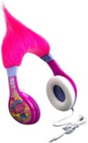 eKids - Trolls Wired Headphones - Pink