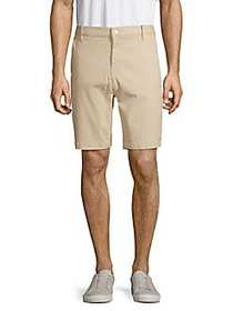 7 For All Mankind Cotton Blend Chino Shorts LIGHT