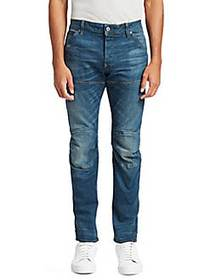 G-Star RAW Skinny-Fit Whiskered Jeans MEDIUM AGE