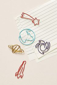 Anthropologie Shaped Kids Paper Clips