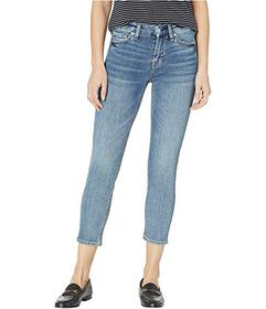 7 For All Mankind B(Air) Kimmie Crop Jeans in Fort