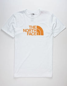 THE NORTH FACE Half Dome Logo Oatmeal Mens T-Shirt