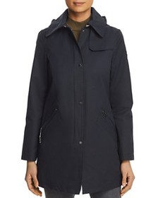 VINCE CAMUTO - Hooded Raincoat