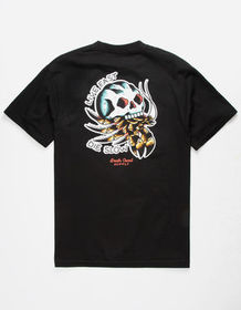 DEATH COAST SUPPLY Live Fast Mens T-Shirt_