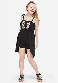 Justice Embroidered Girls Maxi Skirted Romper