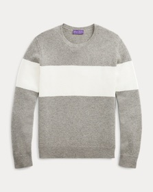 Ralph Lauren Striped Cashmere Sweater