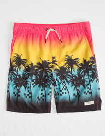 PUBLIC ACCESS Sunset Boulevard Boys Volley Shorts_