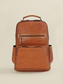 Wilsons Leather Vintage Leather Crunch Backpack
