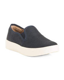 SOFFT Comfort Slip On Leather Sneakers