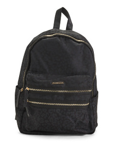RAMPAGE Leopard Printed Nylon Backpack
