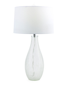 GRANDVIEW GALLERY Glass Table Lamp Crystal Base
