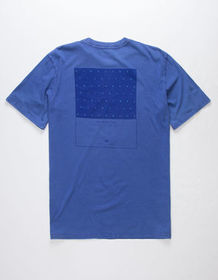 THE NORTH FACE Shine On Aztec Blue Mens T-Shirt_