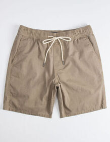 VALOR Benny Twill Taupe Mens Volley Shorts_