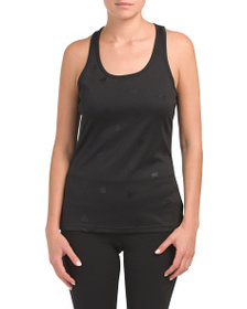 REEBOK Stand Out Logo Embossed Tank