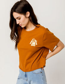 HURLEY Scene Out Womens Crop Tee_