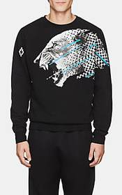 Marcelo Burlon County of Milan Cat-Print Cotton Sw