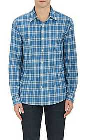 Faherty Arrow-Plaid Cotton Shirt
