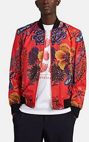 Paul Smith Floral-Print Ripstop Bomber Jacket