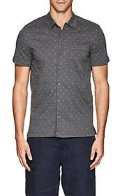 BLANKNYC Polka Dot Cotton Shirt