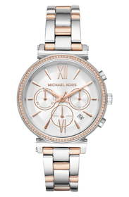 Michael Kors Sofie Chronograph Bracelet Watch, 39m