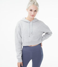 Aeropostale Cozy Cropped Pullover Hoodie