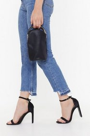 Nasty Gal Womens Black WANT Can You Handle This Fa