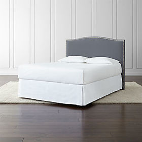 Crate Barrel Colette Upholstered Headboard 52.5""