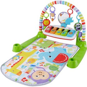 Fisher-Price Deluxe Kick & Play Removable Piano Gy
