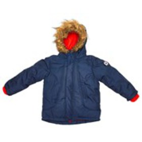 BEN SHERMAN Toddler Boys Fleece Lined Parka with F