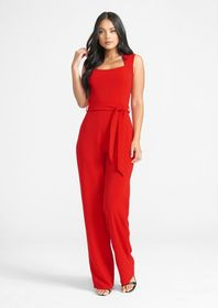 Tall Ava Stretch Crepe Jumpsuit