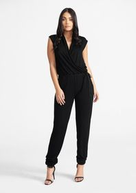 Tall Lux Wrap Jumpsuit