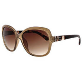 Womens O by Oscar Rounded Square Sunglasses