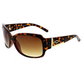 Womens O by Oscar Square Sunglasses with Metal Emb