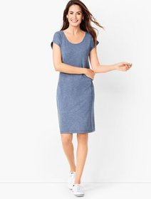 Talbots French Terry Dress - Solid
