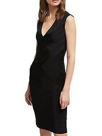 French Connection Zasha Spotlight Mini Sheath Dres