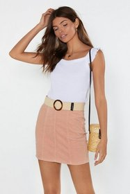 Nasty Gal Womens White Give 'Em a Ruffle for Their