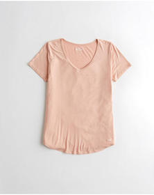 Hollister Must-Have Easy T-Shirt, PINK