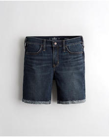 Hollister Advanced Stretch Mid-Rise Denim Short 7