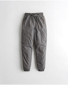 Hollister Ultra High-Rise Utility Joggers, GREY