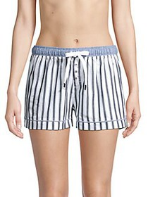 Splendid Striped Pajama Shorts BLUE STRIPE