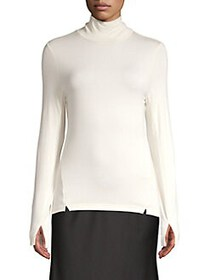 French Connection Venetia Turtleneck Top CLASSIC W