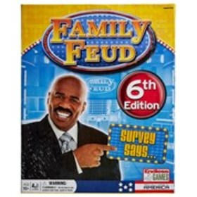 FAMILY FEUD Family Feud Game 6th Edition