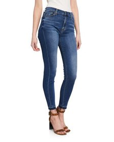 7 For All Mankind Gwenevere High-Waist Released-He
