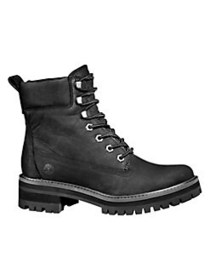 Timberland Courmeyeur Valley Leather Boots BLACK