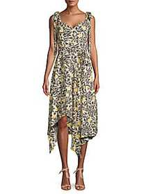 Proenza Schouler Printed Asymmetrical Knee-Length